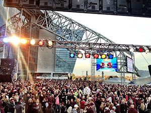 best Dallas live bands - Cotton Bowl Dallas TX