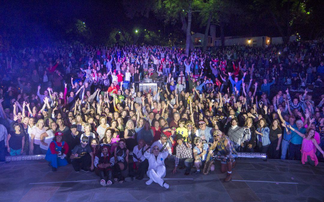 Largest Crowd at Dallas Arboretum Event Ever