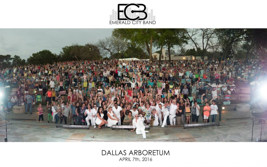 Back to Dallas for the SOLD OUT Dallas Arboretum and Botantical Garden show