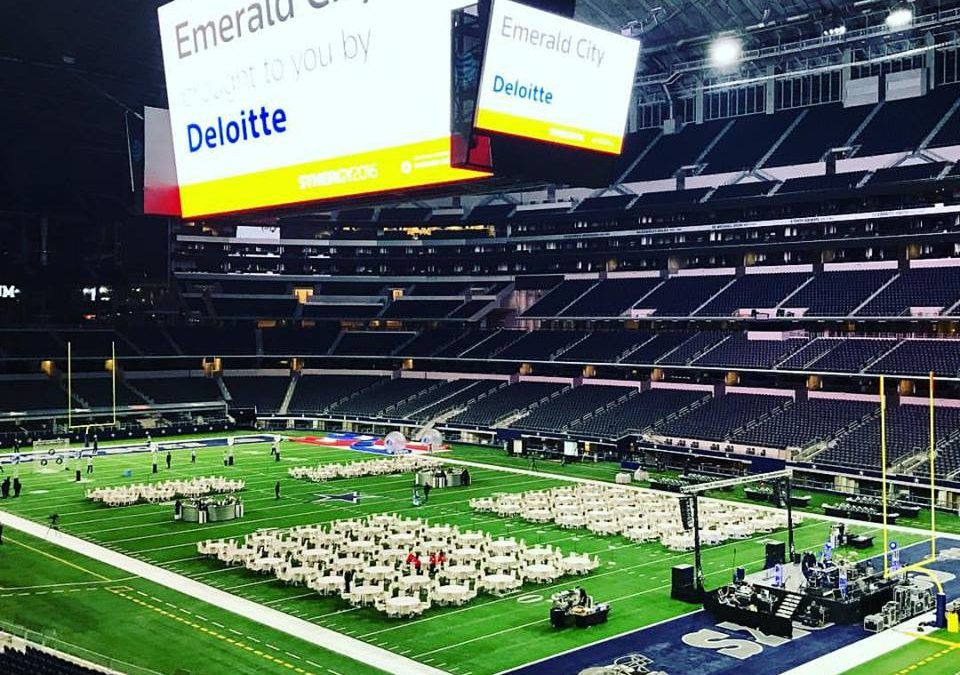 AT&T Stadium Party…Emerald City Style