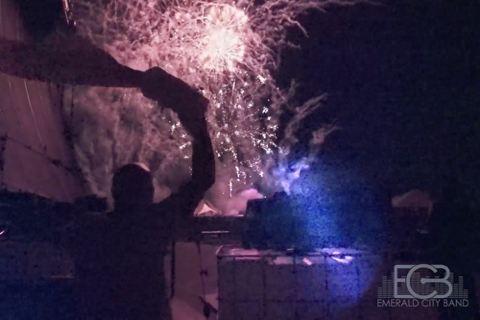 Allen USA fireworks