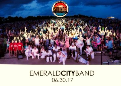 Emerald City Band at Sounds at Sunset in Murphy, TX