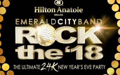 "The Ultimate New Year's Eve Party – Emerald City's ""Rock the '18""!"