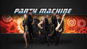 Dallas live party cover band for weddings and events - Party Machine Band