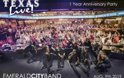 Texas Live! 1 Year Anniversary Celebration with Emerald City Band