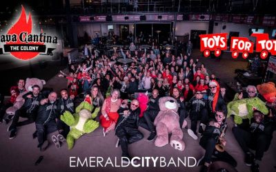 Toys For Tots Drive at Lava Cantina The Colony